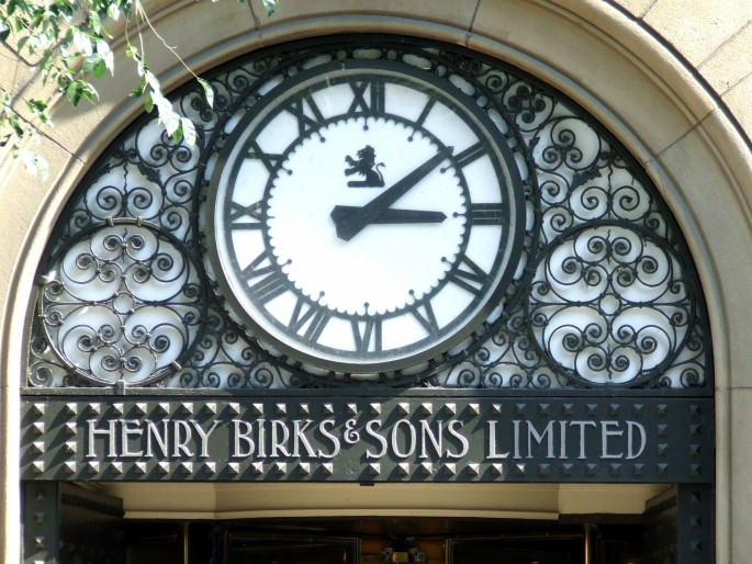 Henry Birk and Sons Clock