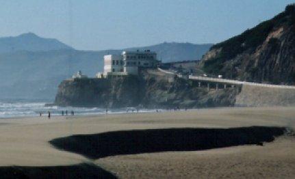 Cliff House outside San Francisco