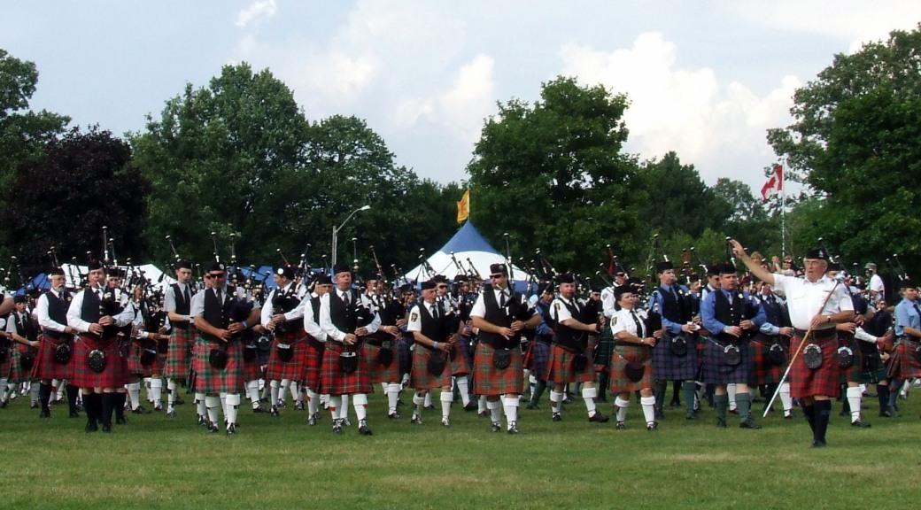 Cambridge Highland games