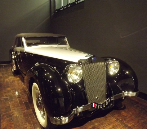1939 Delage luxury car