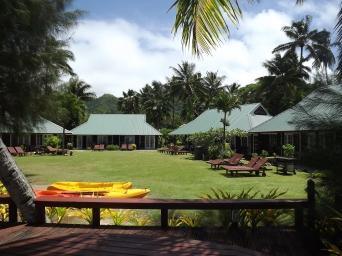 Muri Beachcomber cabins