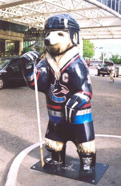 Canuck bear