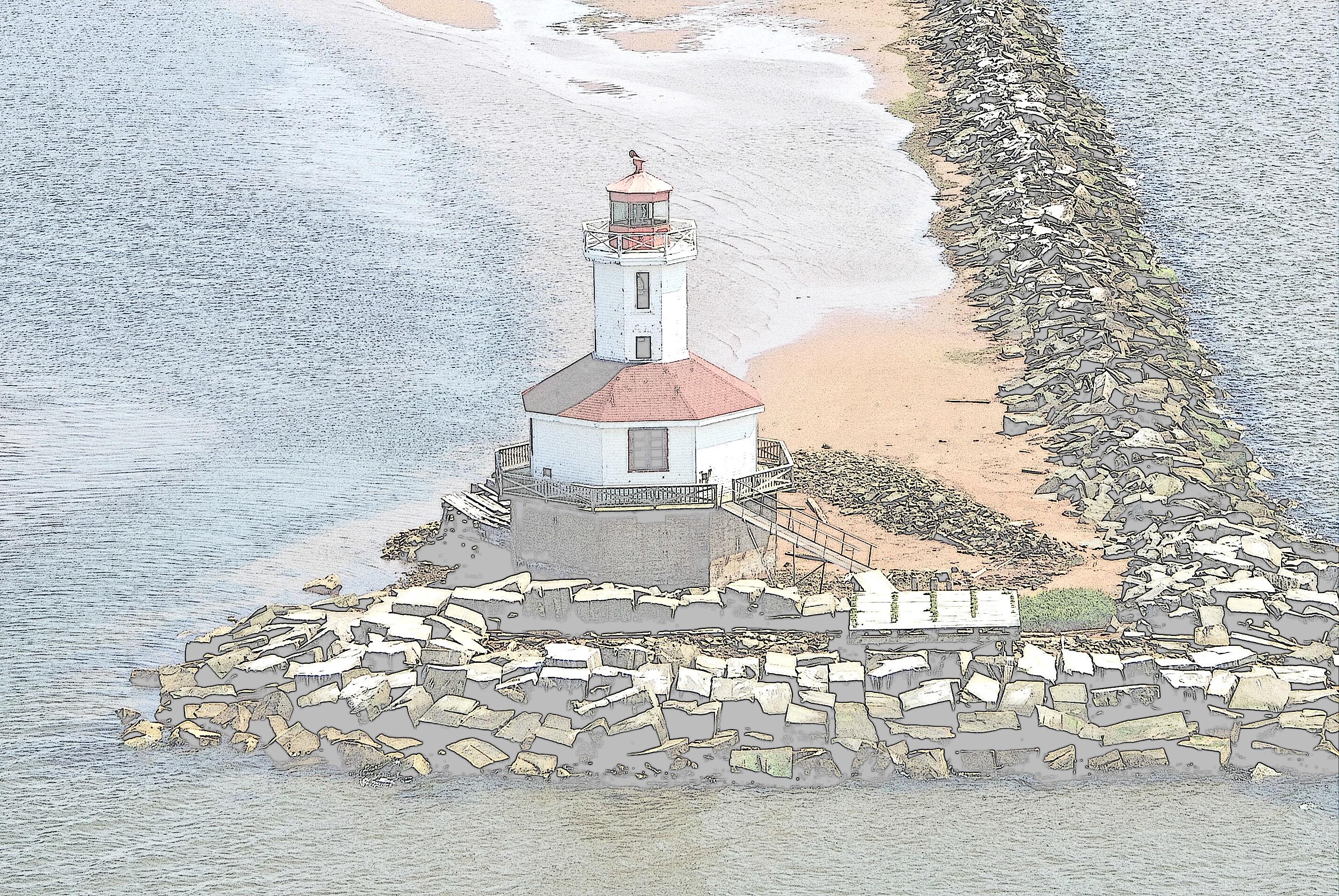 Indian Head Lighthouse print