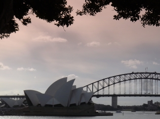 SydneyCBD bridge and Opera House