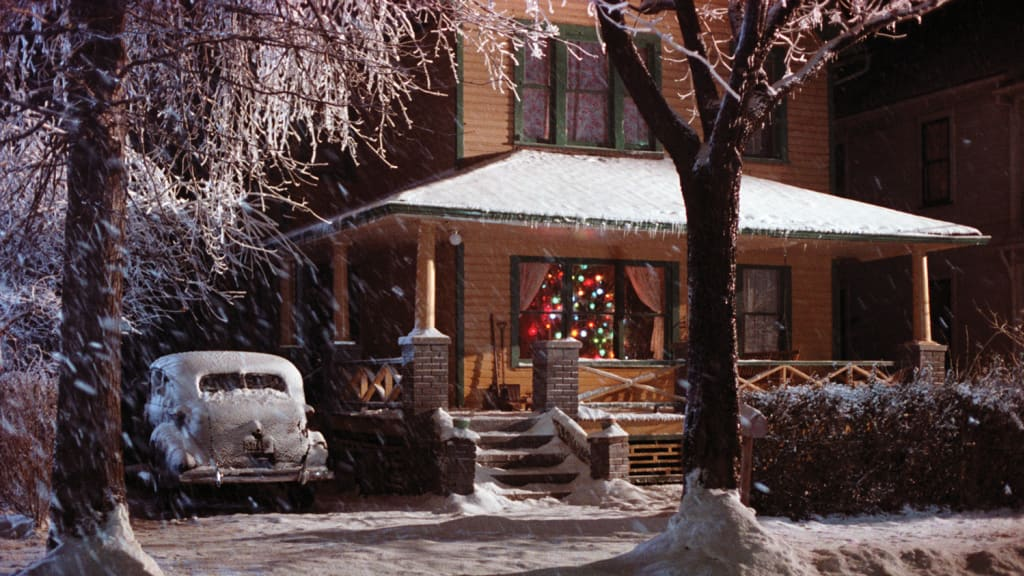 Parker Family Home in A Christmas Story