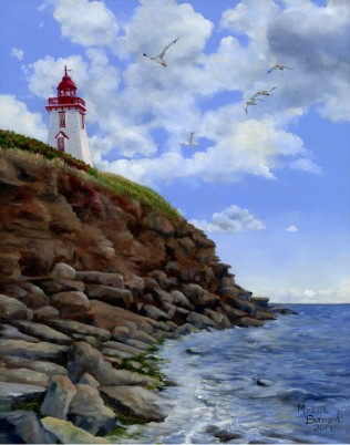 Lighthouse Painting