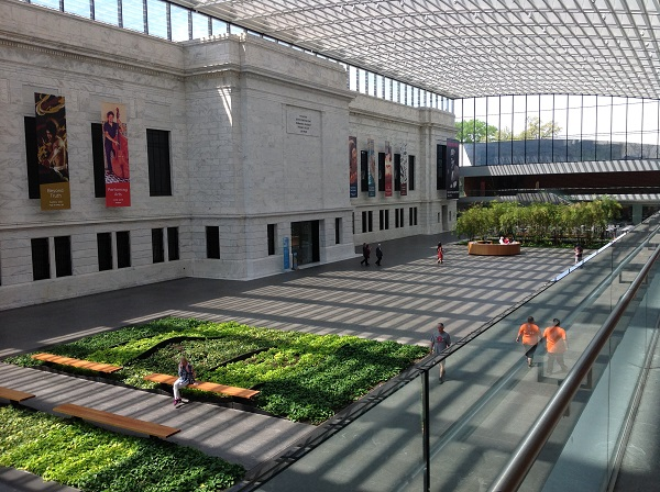 Cleveland Museum of Art atrium